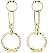 Chloé Women's Interlocking Hoop Earrings