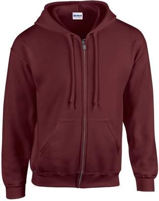 Gildan Heavy Blend Unisex Adult Full Zip Hooded Sweatshirt Top (M)