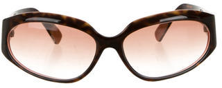 Paul Smith Brown Tortoiseshell Sunglasses $65 thestylecure.com