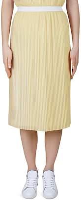 Gerard Darel Aaron Pleated Midi Skirt