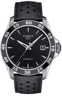 Tissot T-Sport V8 Swissmatic Leather-Strap Watch