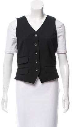 Dolce & Gabbana Wool Sleeveless Vest