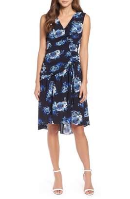 Halogen Sleeveless Ruched Dress