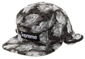 1571451ffb1cb1 Supreme Roses Sherpa Fleece Earflap Camp Cap
