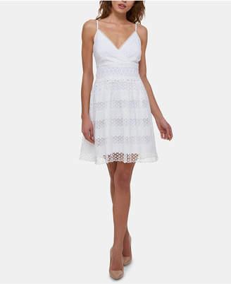 35276fec5597 GUESS White Lace Dresses - ShopStyle