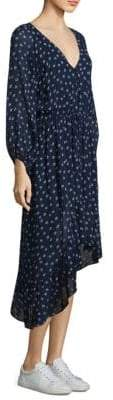 Joie Alithea Quiet Silk Popover Dress