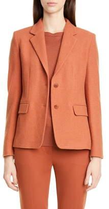 Max Mara Maiorca Cashmere Pique Jacket