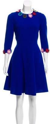 Mary Katrantzou Floral Appliqué Dress