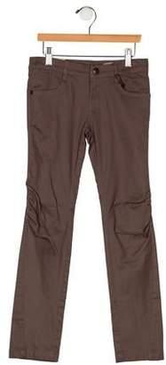 Ikks Girls' Four Pocket Straight-Leg Pants