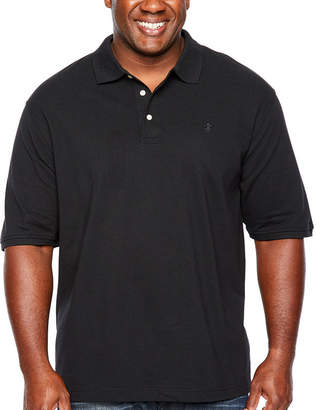 Izod Short Sleeve Pique Polo Shirt Big and Tall