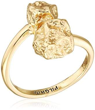 Pilgrim Women Gold Plated Piercing Ring - 191742004
