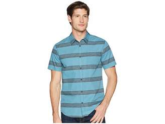 O'Neill Wagner Short Sleeve Woven Top Men's Clothing