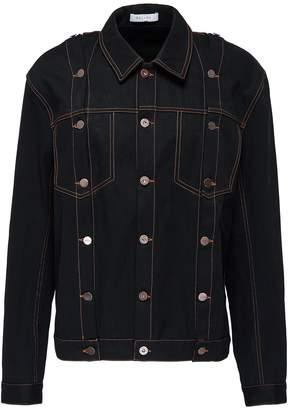 Delada Detachable sleeve unisex denim jacket
