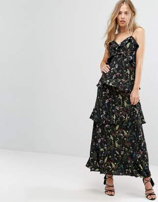 Forever New Tiered Frill Maxi Dress