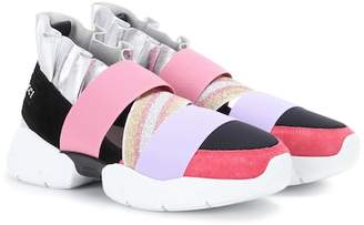 Emilio Pucci Suede sneakers