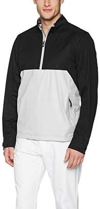Cutter & Buck Men's Weathertec Waterproof Lightweight Fairway Half Zip Pullover