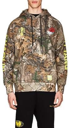 Wu Wear Men's Camouflage Fleece Hoodie
