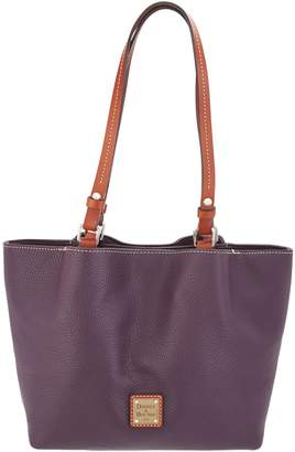 b1e9d55f4ad1 Dooney   Bourke Purple Pebble Leather Handbags - ShopStyle