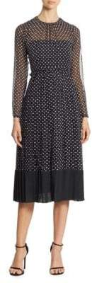 N°21 Polka Dot Midi Dress