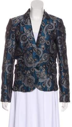 Etro Silk-Blend Jacquard Blazer