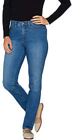 Denim & Co. Studio by Reg. Classic DenimStraghtLeg Jeans
