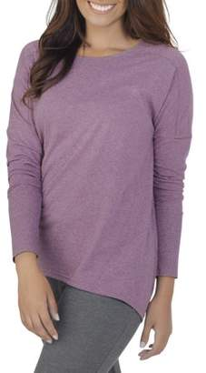 Fruit of the Loom Womens Essentials Soft Long Sleeve Scoop Neck T-Shirt