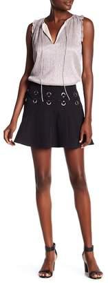 Parker Milo's Crisscross Grommet Skirt