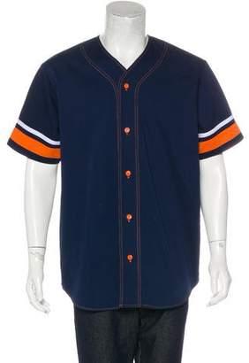 Supreme Twill Baseball Shirt