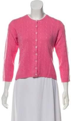 Ralph Lauren Black Label Cashmere Button-Up Cardigan