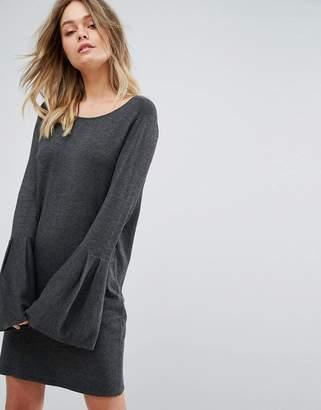 Vero Moda Bell Sleeve Knitted Sweater Dress