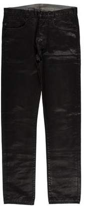 Christian Dior Waxed Skinny Jeans