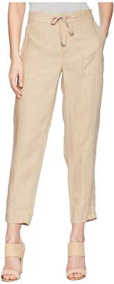 Lauren Ralph Lauren Straight Linen Pants Women's Casual Pants