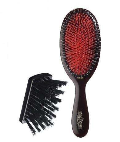Medium Bristle & Nylon 'Junior' Brush By Mason Pearson