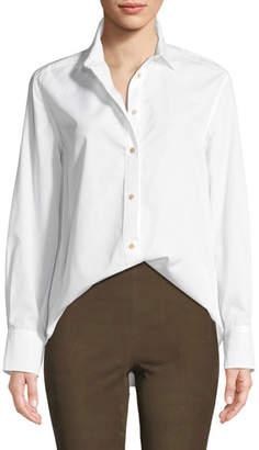 Vince Classic Long-Sleeve Button-Down Shirt