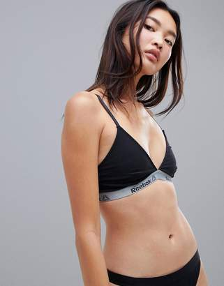 Reebok bra top in black