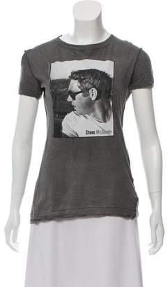 Dolce & Gabbana Distressed Graphic T-Shirt