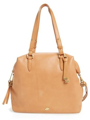 Brahmin Charleston Delaney Southcoast Leather Tote $345 thestylecure.com