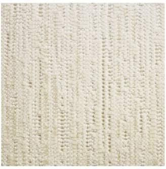 Pottery Barn Fibreworks®; Custom Bouclé Wool Rug - Ivory