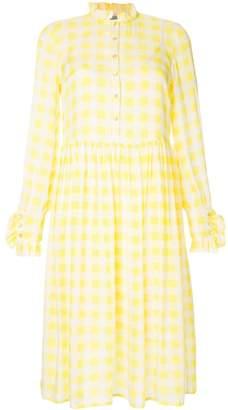 Baum und Pferdgarten Lemon checked dress