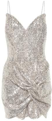 Magda Butrym Deva sequined minidress