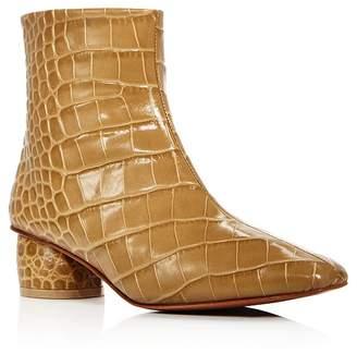 LOQ Women's Matea Croc-Embossed Booties
