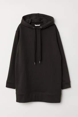 H&M Oversized Hooded Sweatshirt - Black