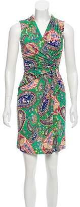 Etro Printed Mini Dress