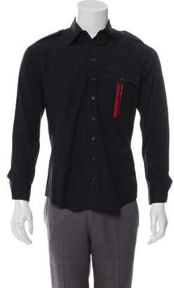 DSQUARED2 Woven Military Shirt