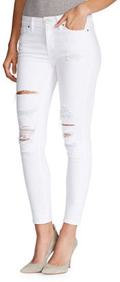 William Rast Distressed Ankle-Length Pants $79.50 thestylecure.com