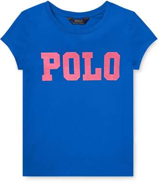 Ralph Lauren Childrenswear Girl's Cotton Jersey Graphic T-Shirt