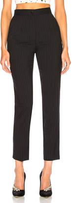 Dolce & Gabbana Pinstripe Stretch Wool Trousers