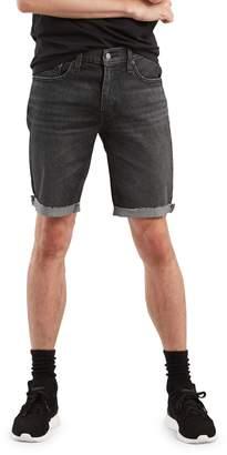 Levi's 511 Blackboard Slim Denim Cut-Off Shorts