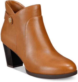Giani Bernini Abalina Memory Foam Booties, Created for Macy's Women's Shoes