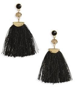 Women's Shashi Mia Tassel Fan Earrings $51 thestylecure.com